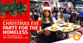 Midland Langar Seva Society Christmas Eve Party for the Homeless New Street Station Birmingham